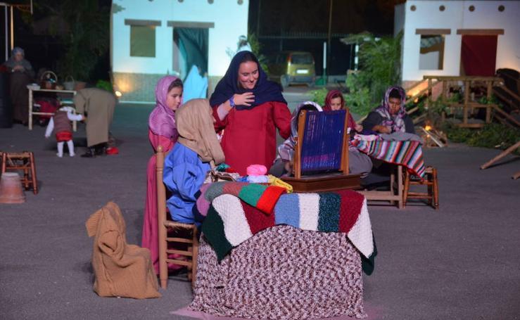 El Belén viviente de Almayate, en fotos