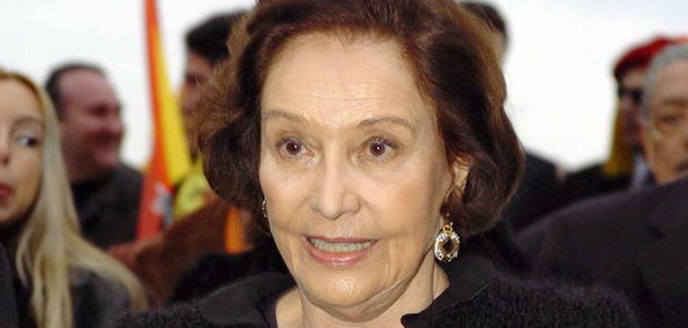Muere Carmen Franco a los 91 años