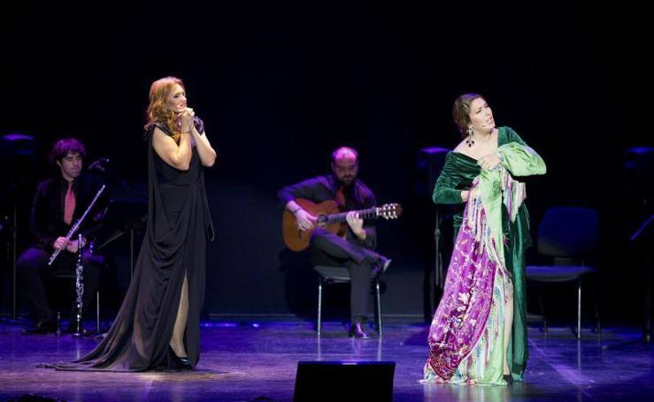 Fotos del recital de Ainhoa Arteta y Estrella Morente en Málaga