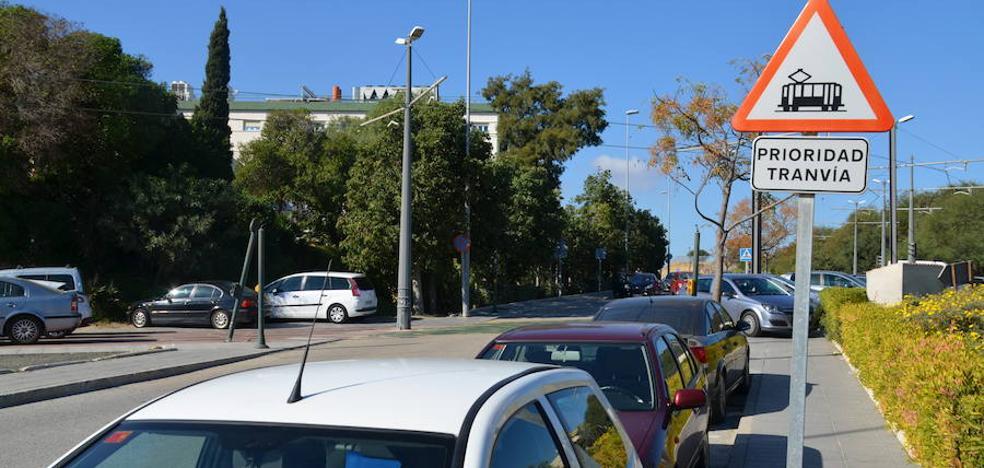 El tranvía de Vélez-Málaga llega a 2018 en la misma vía muerta en la que está desde cinco años y medio