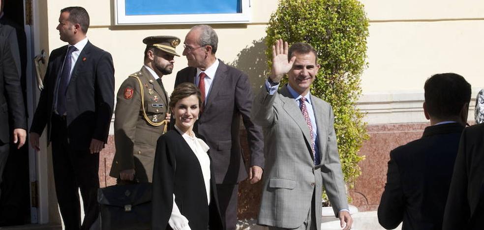 Los Reyes entregarán en Málaga en febrero las Medallas de las Bellas Artes