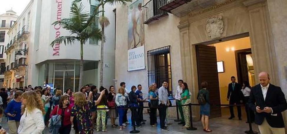 El Museo Thyssen salva el 2017 con un leve descenso de visitas