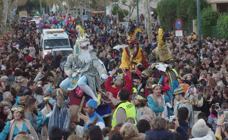 Las imágenes de la Cabalgata de Reyes de Cruz Humilladero