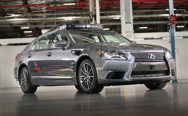 Lista la nueva plataforma de conducción autónoma de Toyota