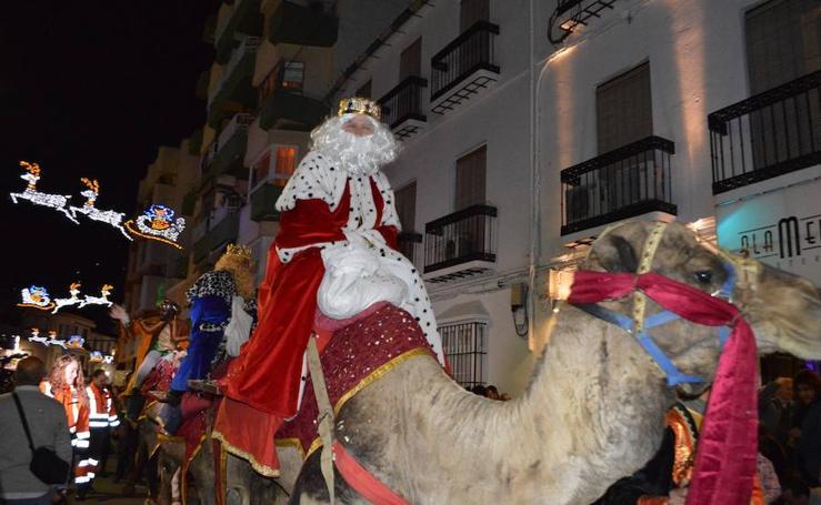 Así ha sido la cabalgata de Reyes en Coín