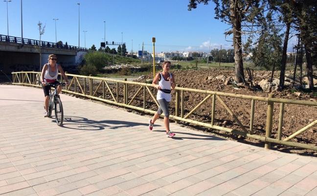 Los socialistas denuncian estado de abandono del paseo fluvial del Río Guadaiza