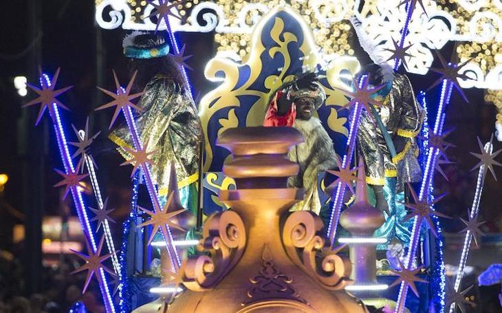 La Cabalgata de Reyes Magos de Málaga, en imágenes (II)