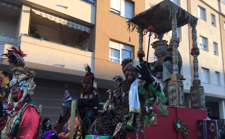 La cabalgata y los Reyes Magos en la Axarquía