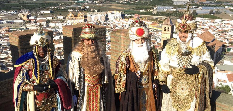 Los Reyes Magos de Oriente recorren toda la Axarquía