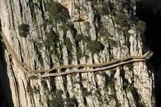El Caminito del Rey cierra este sábado por desprendimientos de roca tras las lluvias