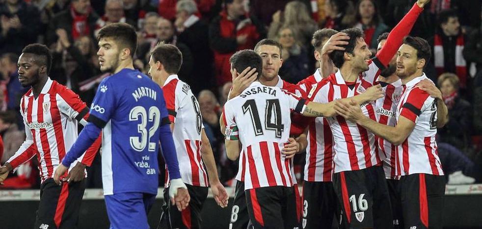 El Athletic le gana el derbi al Alavés y ya mira a Europa