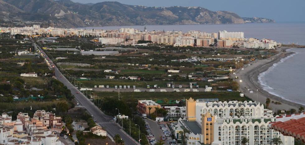 El proyecto del paseo marítimo de El Playazo de Nerja suma tres años de parálisis