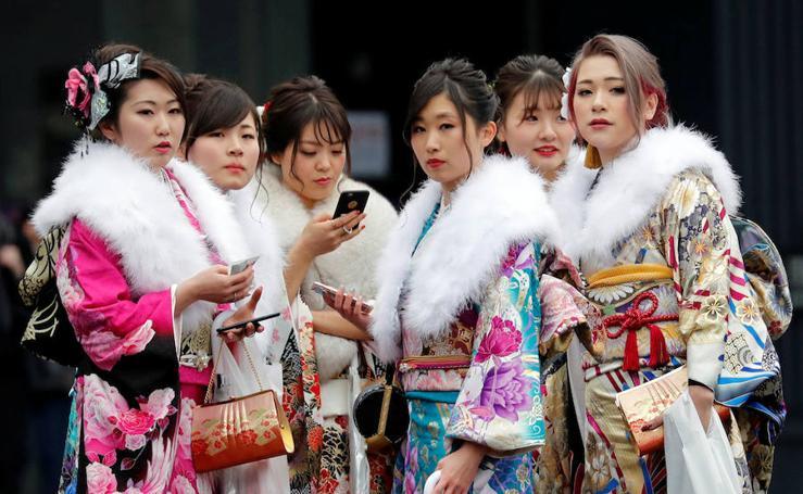 Seijin no hi o Día del Adulto en Japón