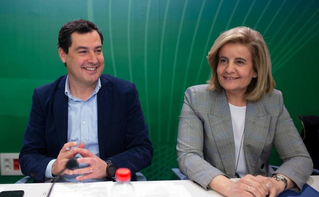 Moreno arranca el año político como si hubiera elecciones andaluzas