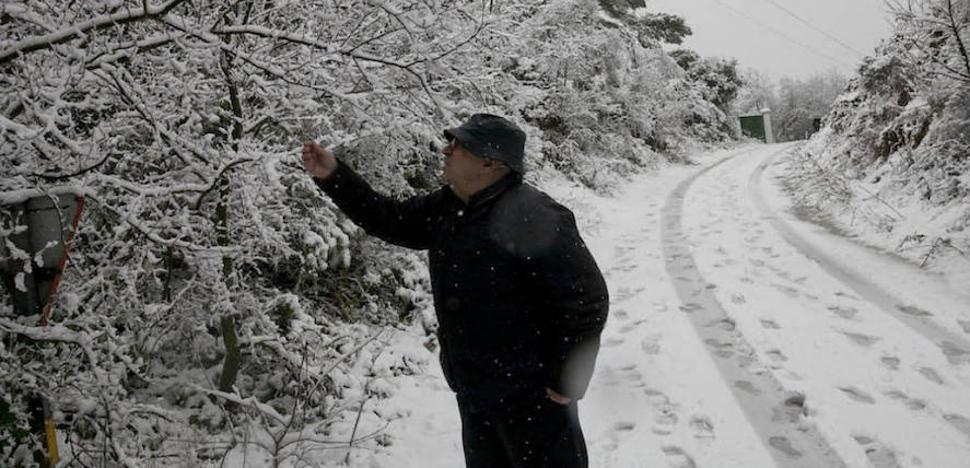 La nieve y la lluvia, un respiro para el campo