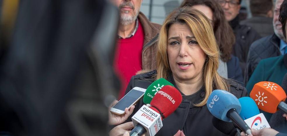 """Susana Díaz acusa a Rajoy y Montoro de """"reírse"""" de las CCAA y les exige plantear ya un modelo de financiación"""