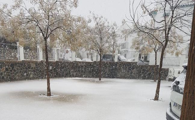 El frío se intensifica en la provincia con temperaturas bajo cero