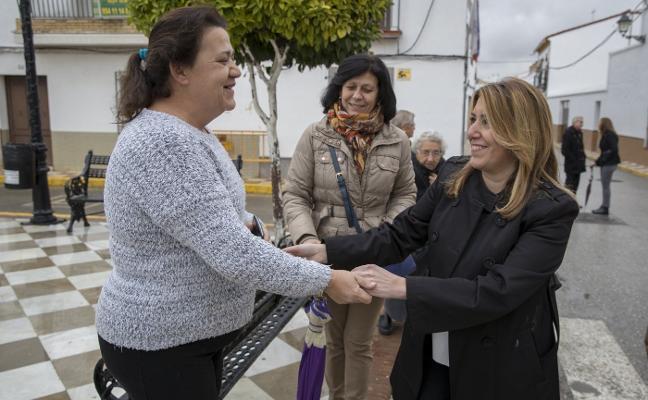 Susana Díaz acusa a Rajoy de «reírse» de las comunidades por retrasar la nueva financiación
