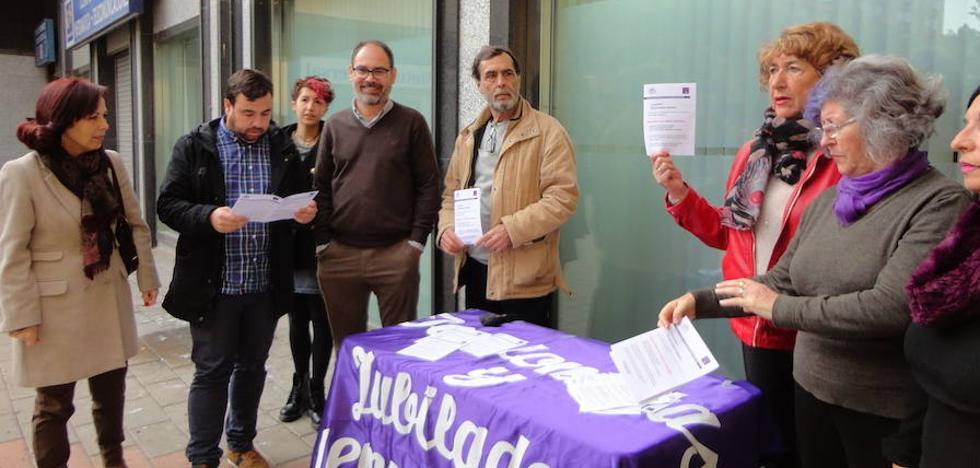 Podemos inicia una campaña en defensa de las pensiones públicas