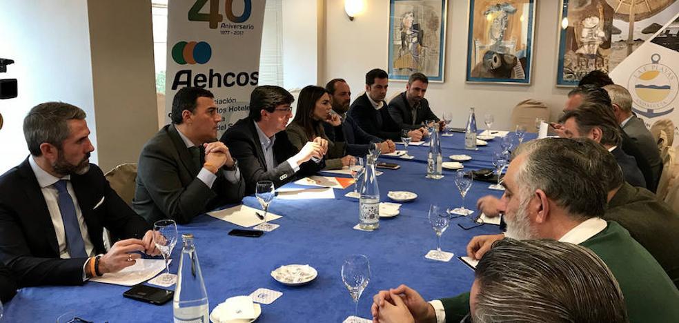 """Juan Marín afirma que sería """"un disparate"""" adelantar las elecciones en Andalucía"""