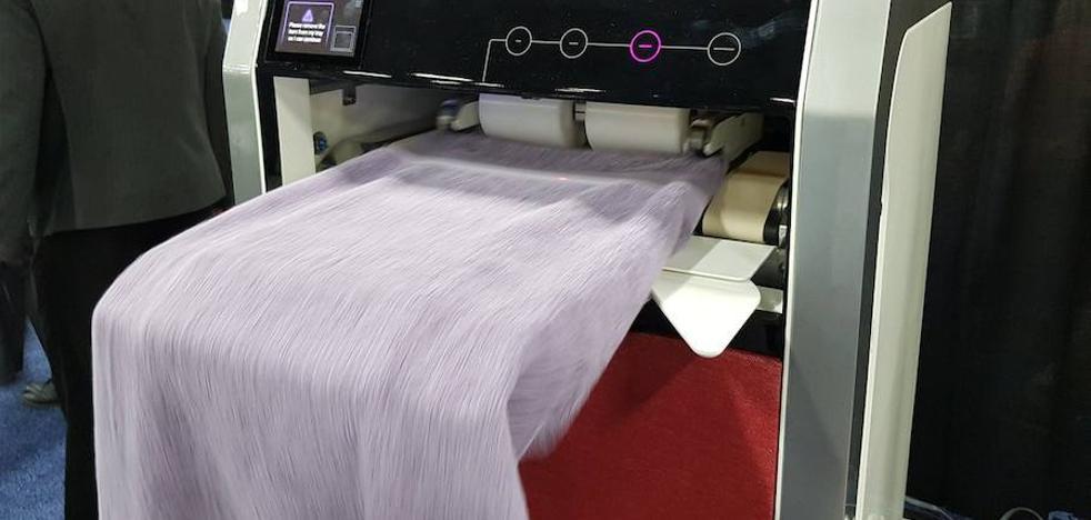 Lavar y planchar en cuatro segundos será posible en 2019
