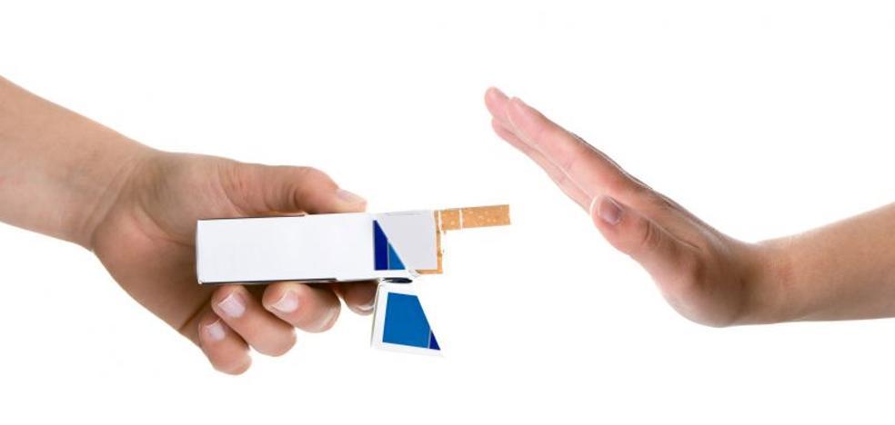 Fume por favor