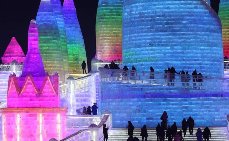 Fotos de la espectacular ciudad de hielo Harbin