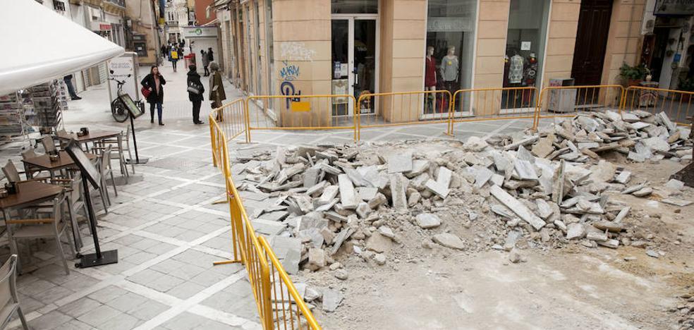 El Ayuntamiento retoma la obra de la calle San Juan para acabarla en marzo