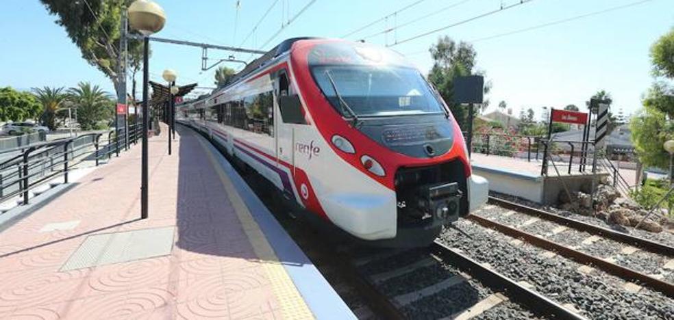El PSOE llevará al Congreso la conexión directa en tren de Málaga a Marbella