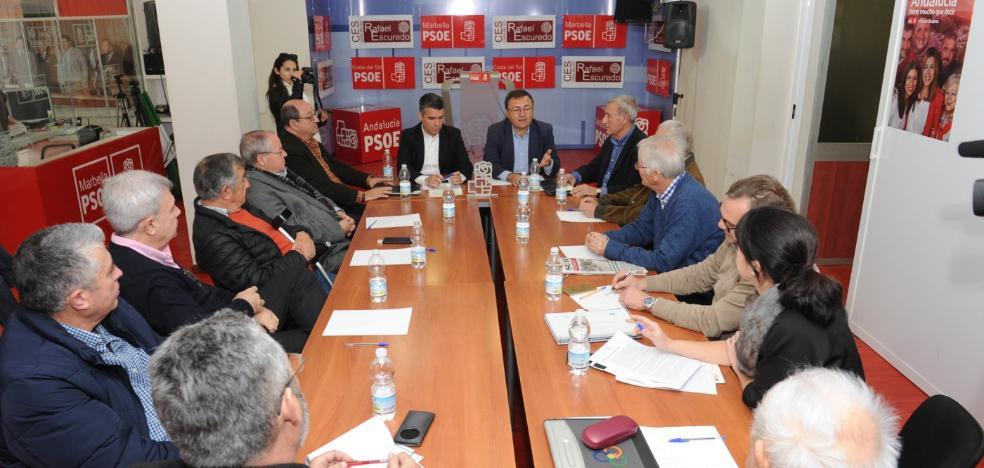 El PSOE pedirá en el Congreso una conexión ferroviaria con Málaga y el aeropuerto