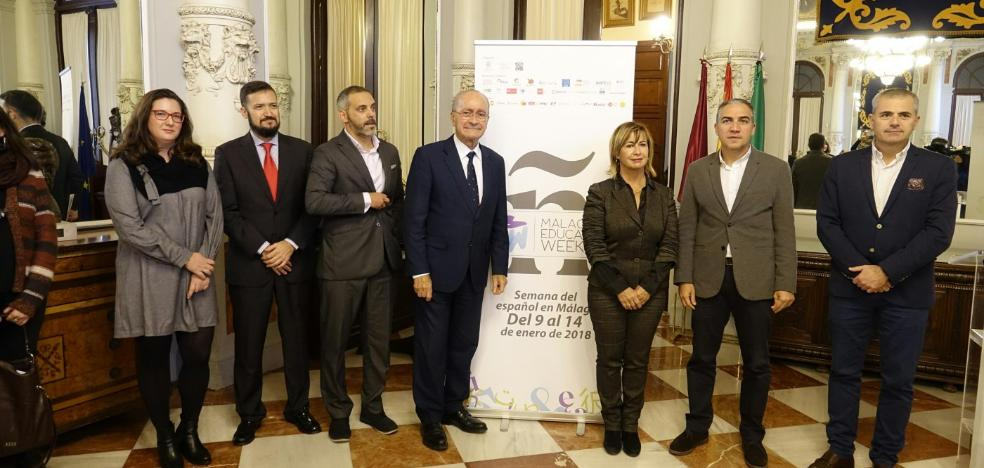 Málaga se convierte en el epicentro del turismo idiomático internacional