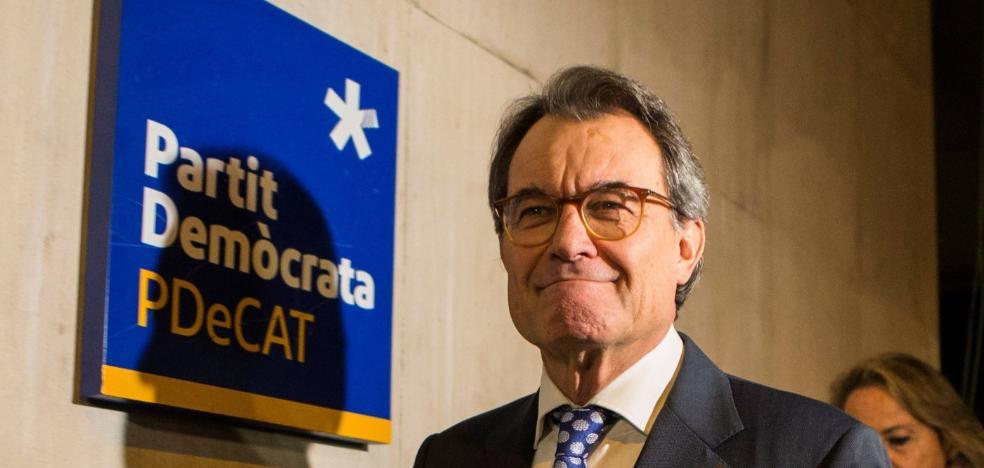 Mas abandona la política superado por la deriva de Puigdemont y por el 'caso Palau'