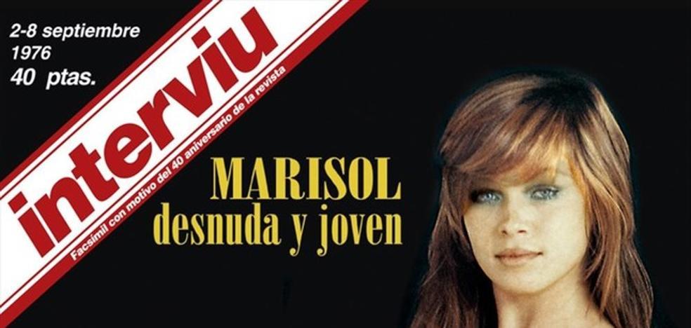 Facebook censura el desnudo de Marisol en Interviú más de 40 años después