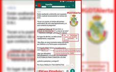 La Guardia Civil alerta del bulo de asaltos a domicilios mediante falsas órdenes judiciales