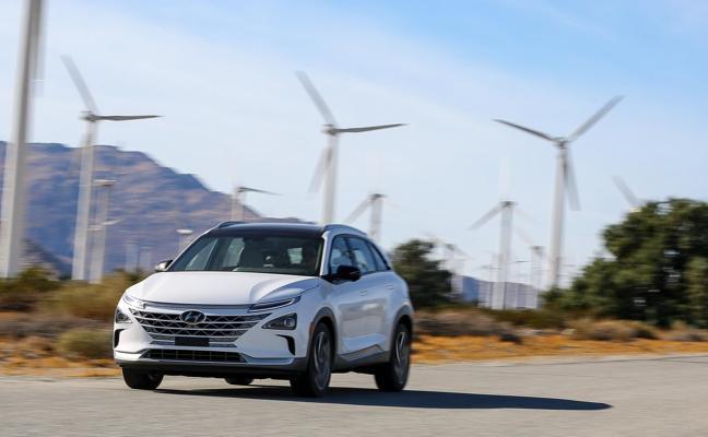 Hyundai Nexo, el SUV que funciona con hidrógeno