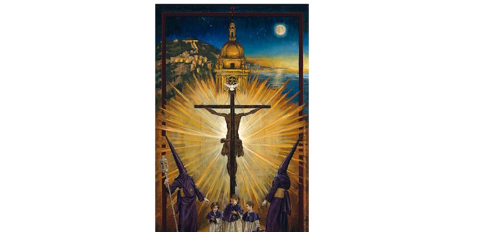 El Cristo de la Redención protagoniza el cartel de la Semana Santa de Málaga de 2018