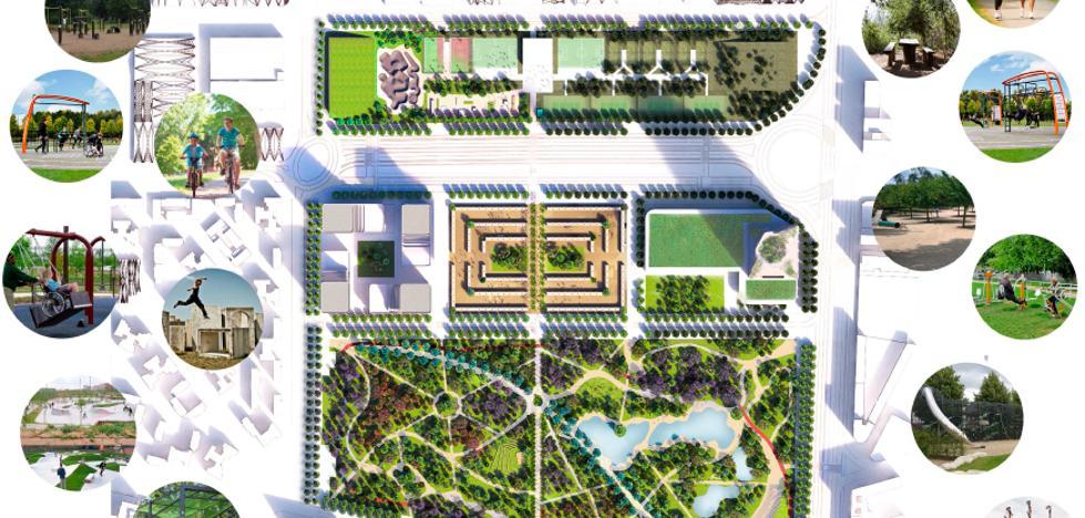 Urbanismo aborda con la Sareb el proyecto de Repsol