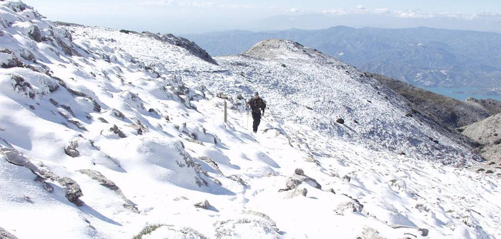 Dónde ver la nieve este fin de semana en Málaga y alrededores