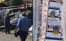 El día en que Google Maps se fijó en Miguel, el aparcacoches del Hospital Materno de Málaga