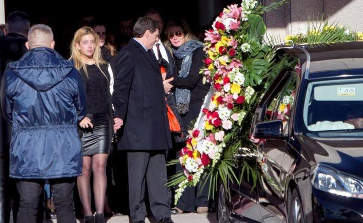 Fotos del funeral por la joven Diana Quer