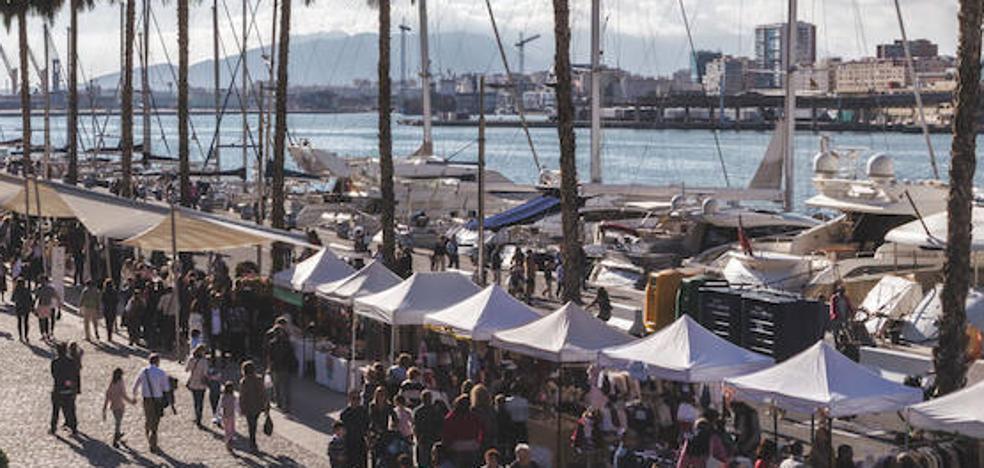 Agenda de mercadillos del fin de semana en Málaga