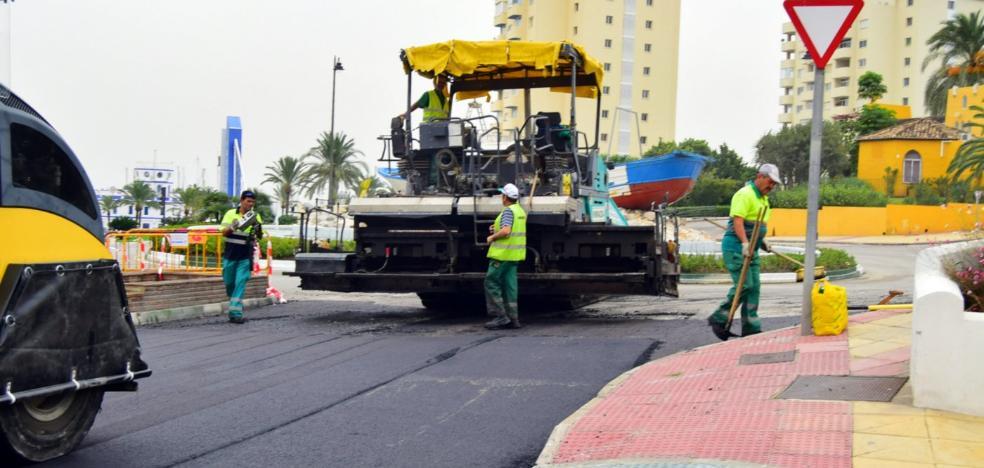 El IV Plan de Asfaltado mejorará 41 calles del centro y el extrarradio de Estepona