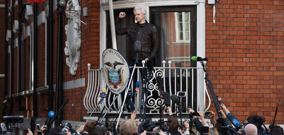 Londres niega a Assange el estatuto diplomático que le pondría en libertad