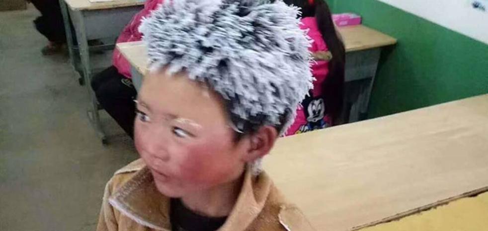 Wang Fuman: el niño chino congelado que conmovió a la red