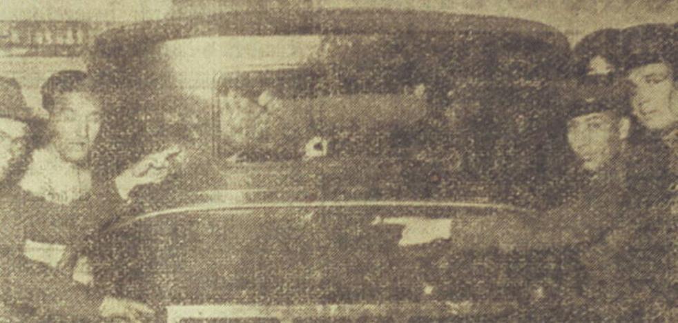 Atentado en Málaga contra el torero El Algabeño en 1934