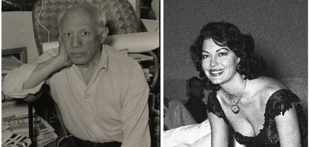 Picasso y Ava Gardner, unidos por el 'machaquito'