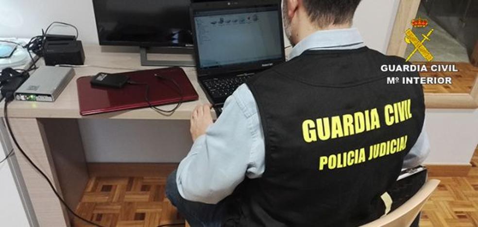 Registran un domicilio en Málaga en una operación contra la pornografía infantil y el abuso de menores