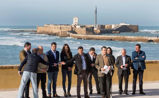 Los presidentes del PP andaluz firman un manifiesto en defensa de la prisión permanente revisable