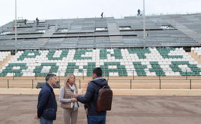 Marbella ultima la puesta a punto para la Copa Davis