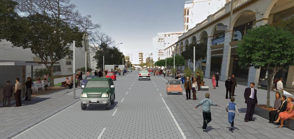 El Ayuntamiento destinará casi tres millones a la remodelación de la avenida Andalucía